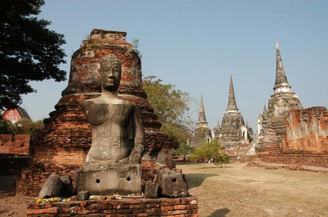 Palacio Wat-Phra-Si-Sanphet.