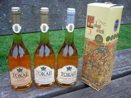 Tokay, el rey de los vinos húngaros.