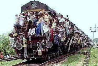 Pasajeros al tren…