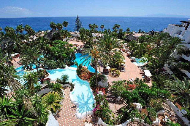 TROPICAL HOTEL JARDÍN TROPICAL Vista jardín