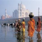 Taj Mahal, India, el más bello monumento al amor
