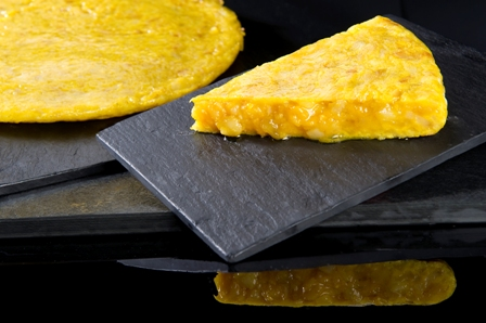 La famosa tortilla del Sagartoki y Senén.