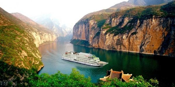 Crucero por el río Yangtze.