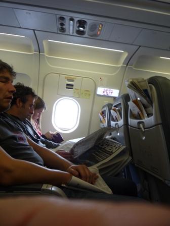 Los asientos preferidos de los pasajeros