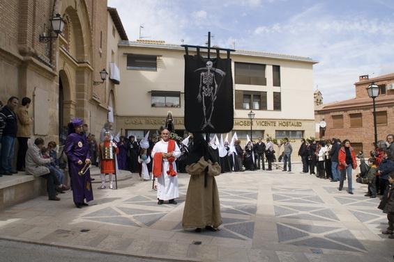Las procesiones de Calanda constituyen un reclamo turístico de primer orden. (Foto cortesía del Ayto. de Calanda)