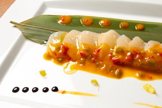 Ceviche-sashimi.